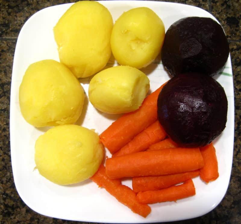 Beet Salad Vinegret - ingredients