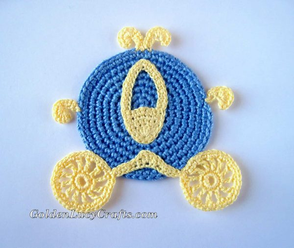 Crochet Cinderella Carriage