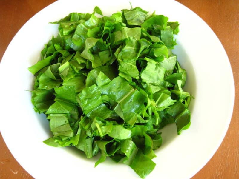 Green Borsch (Sorrel Soup)