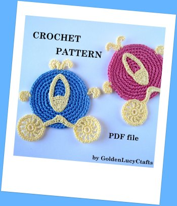 Cinderella Carriage Crochet Pattern