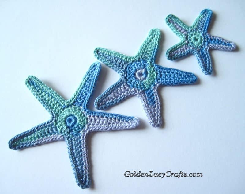 Crochet Star Fish, Sea Star