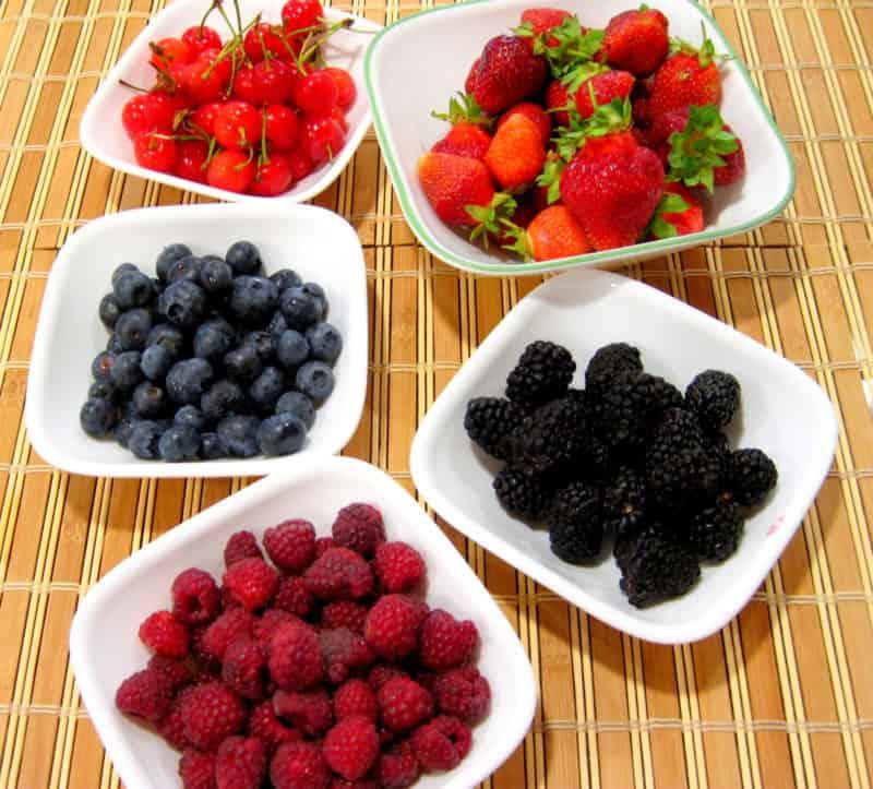 Homemade Berry Drink – Kompot - Ingredients