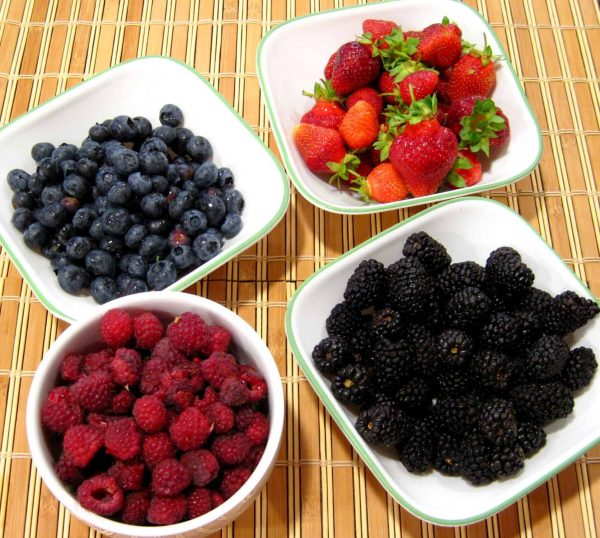 Roasted Berries recipe