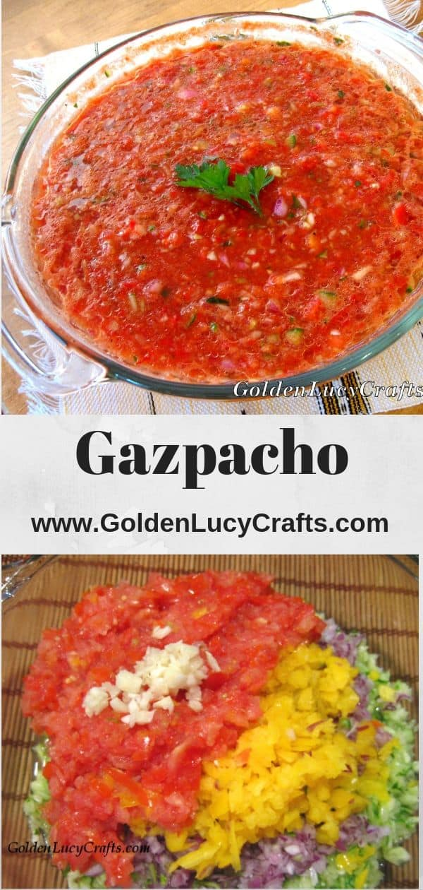 Gazpacho recipe, gazpacho soup recipe, gazpacho Spanish soup, healthy soup