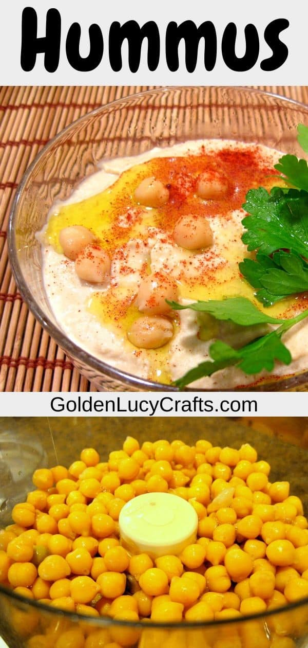 Hummus recipe, easy, homemade hummus, traditional Middle Eastern recipe