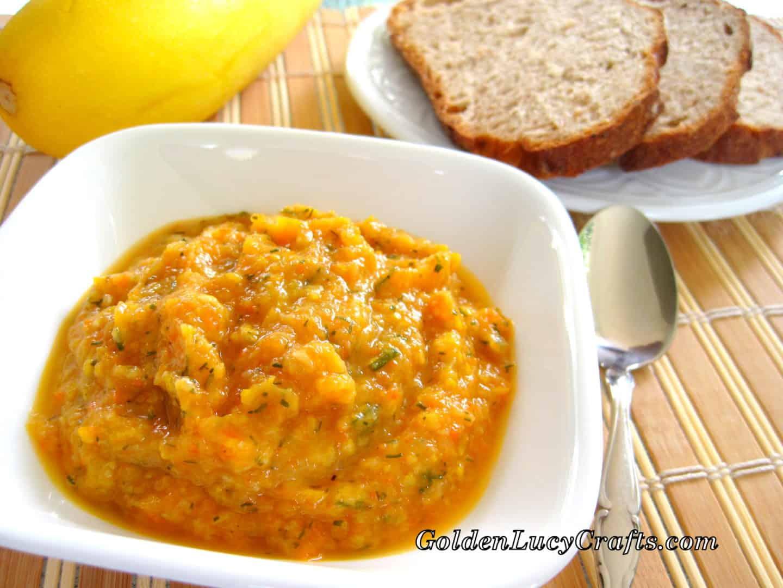 Squash Paste or Squash Caviar