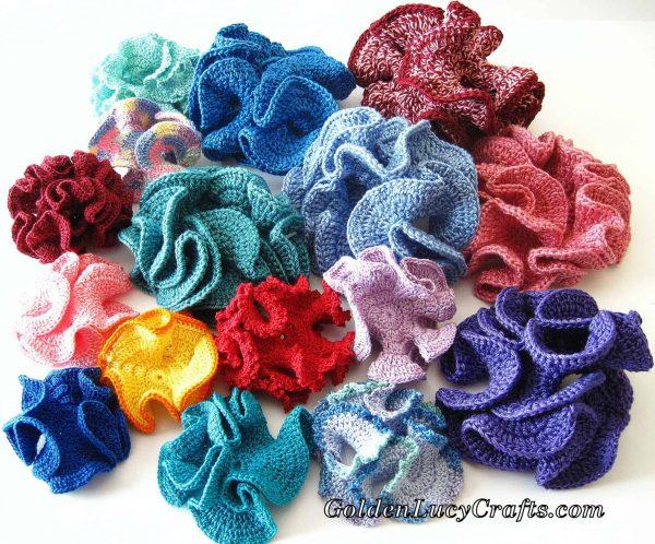 Crochet Hyperbolic Coral