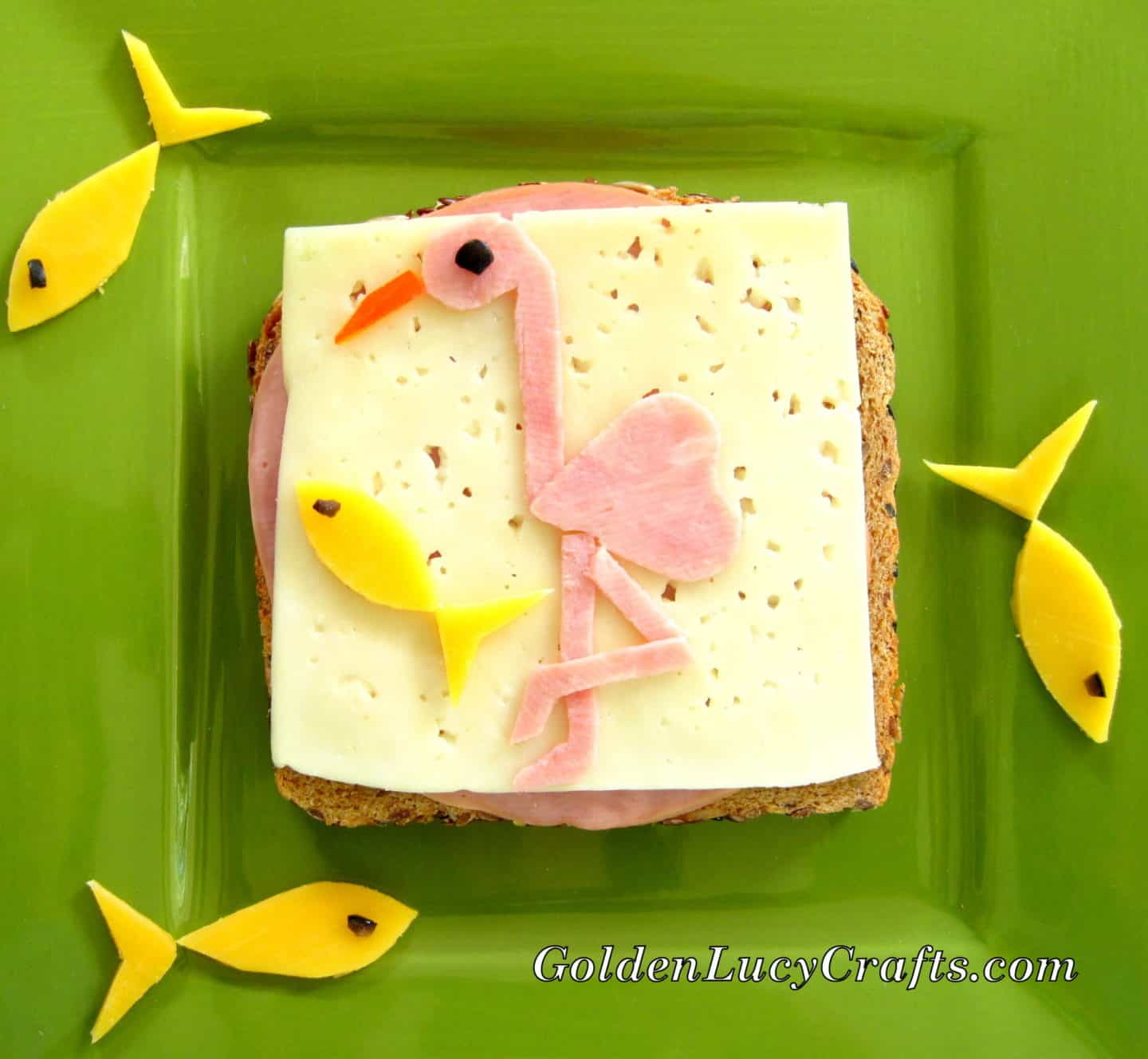 Flamingo Sandwich
