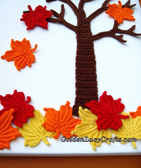 Crochet Wall Art – Fall