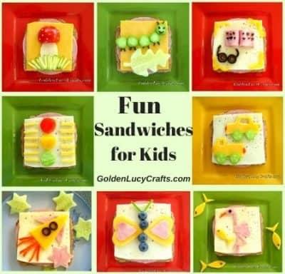 Fun Sandwiches