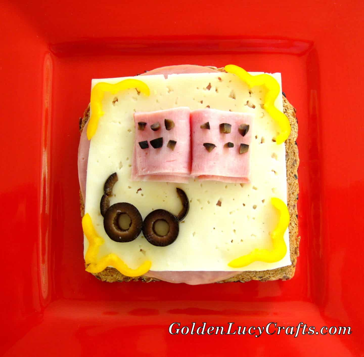 Kids Fun Sandwich, Food Art