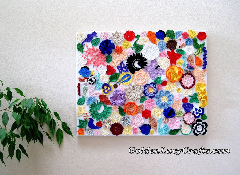 Crochet Wall Art – Wall Décor