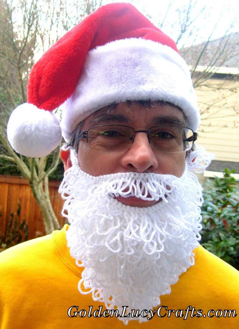 Santa Beard Crochet Pattern