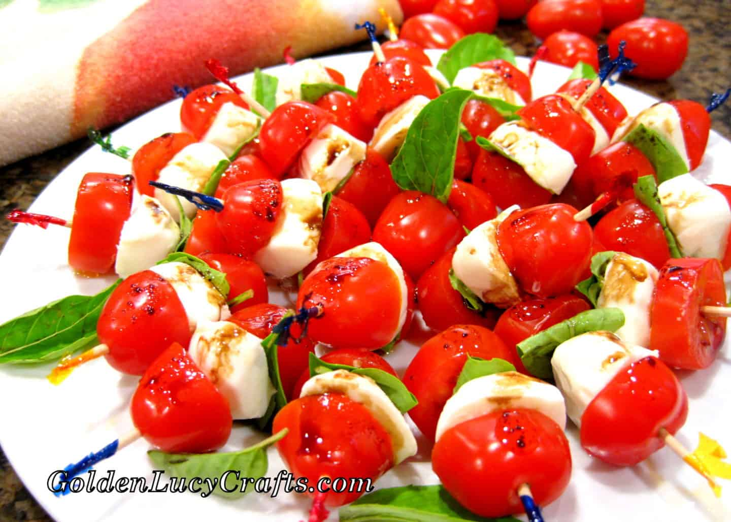 Caprese Salad Appetizer Skewers