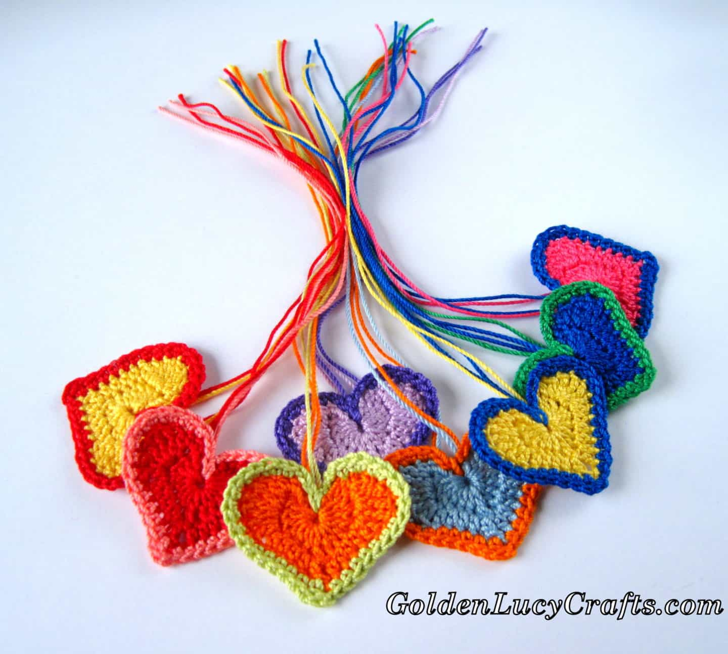 Colorful Valentine's Day Hearts