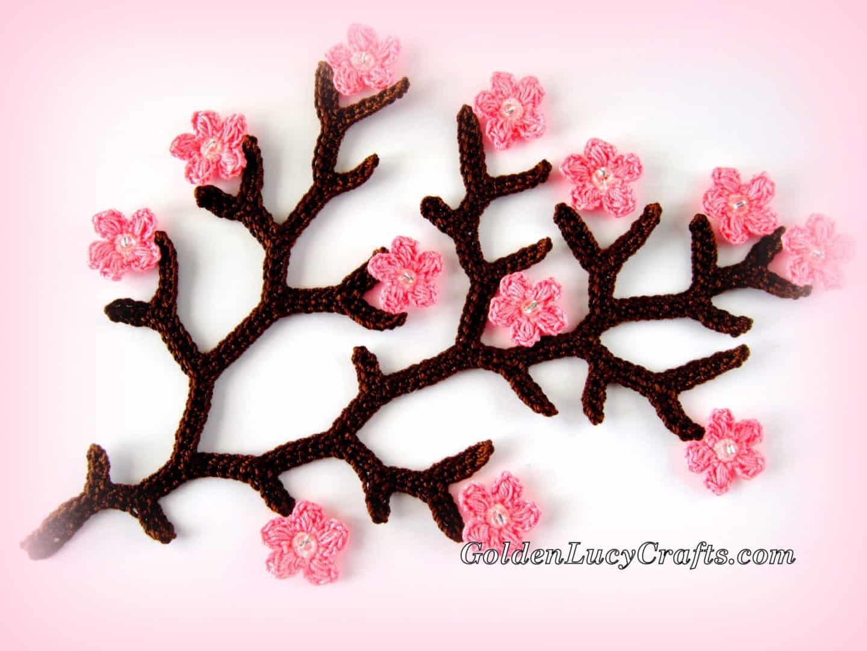 Cherry Blossom Branch – New Pattern