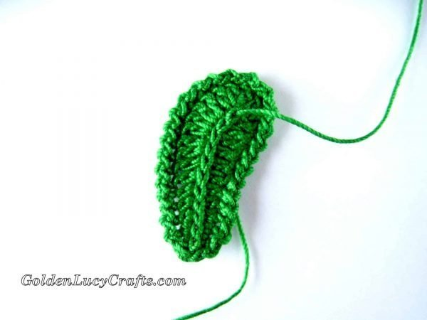 Crochet Leaf – Irish Lace Motif