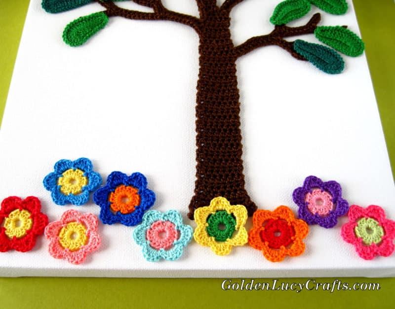 Crochet Wall Art – Summer