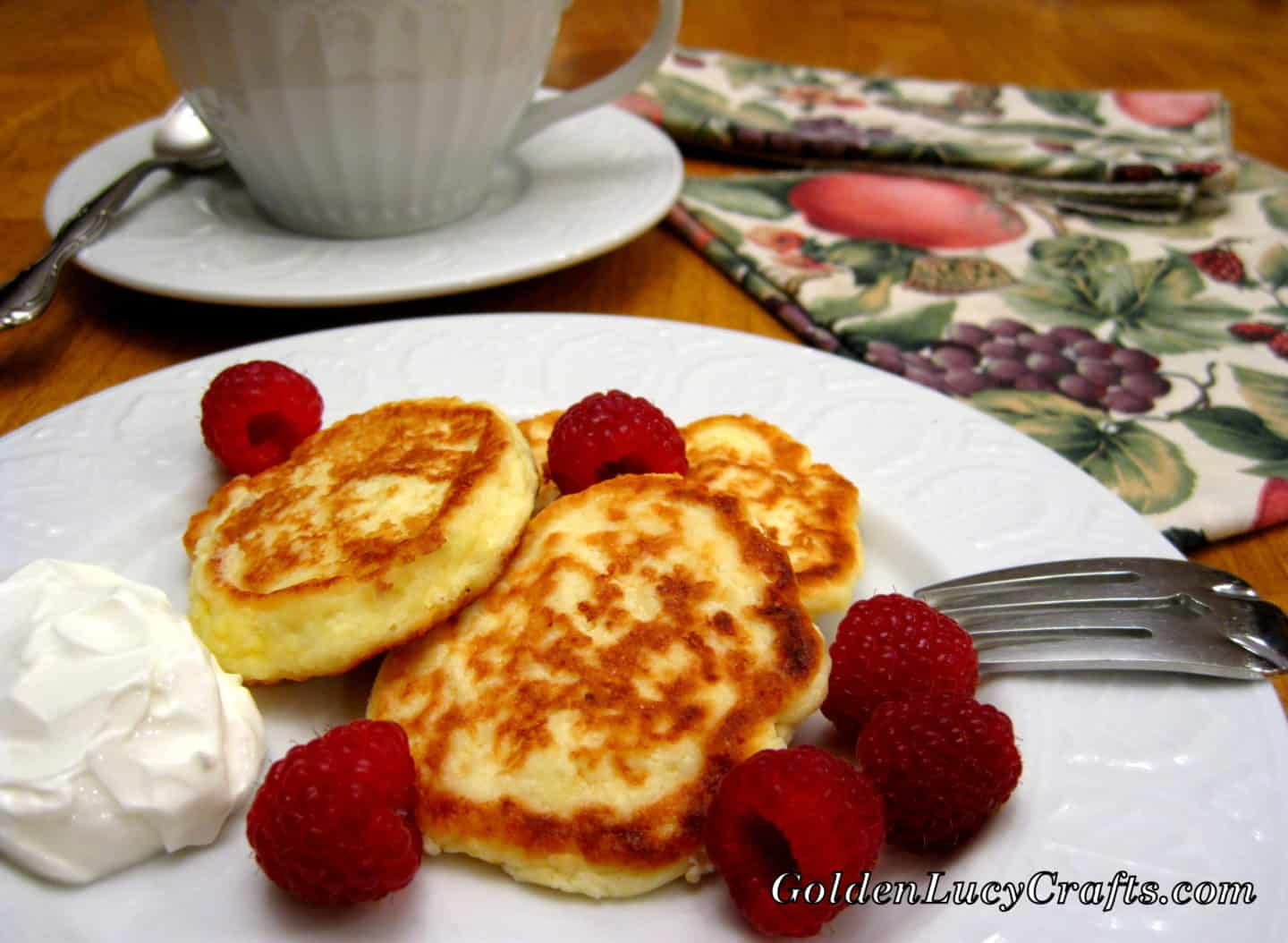 Farmer Cheese Pancakes (Ukrainian Syrniki)