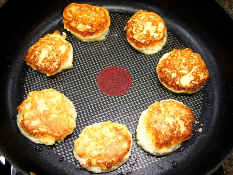 Farmer Cheese Pancakes (Ukrainian Syrniki)