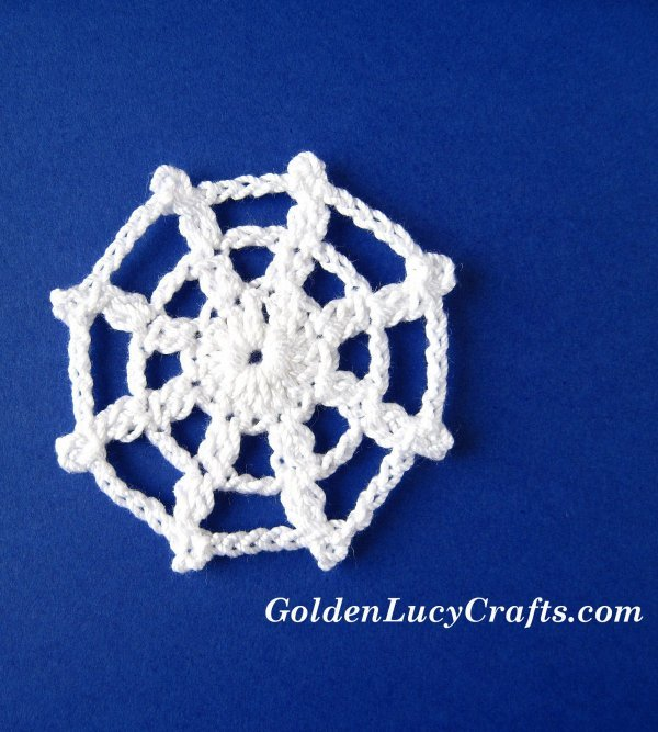 Crochet spider web pattern free