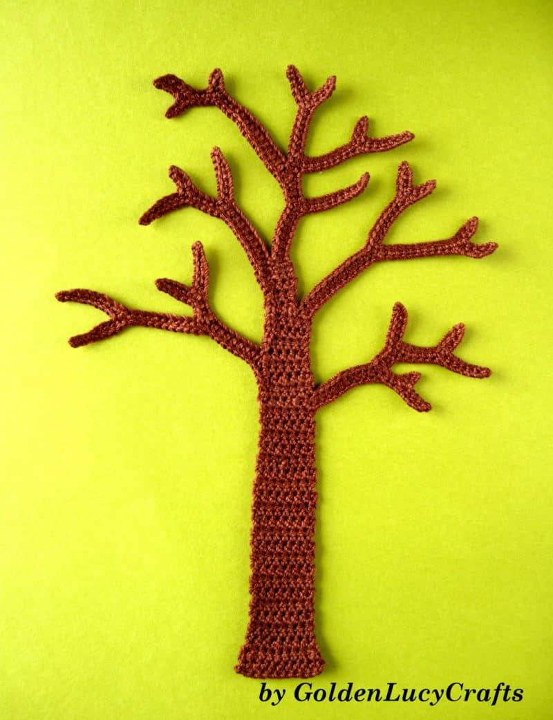 Four Seasons Crochet Wall Art - GoldenLucyCrafts