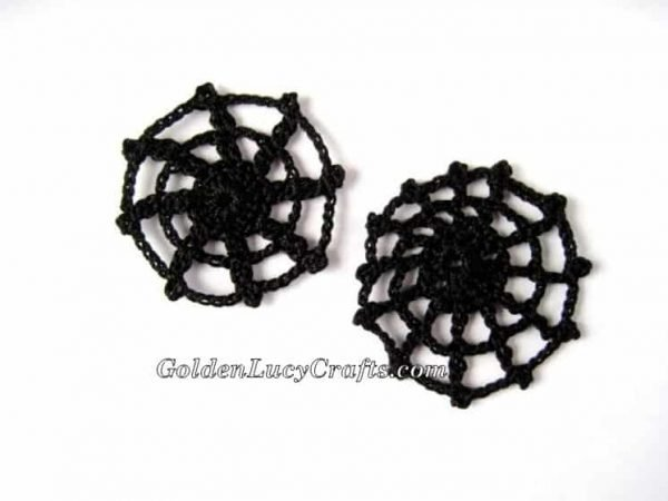 Spider Web Applique