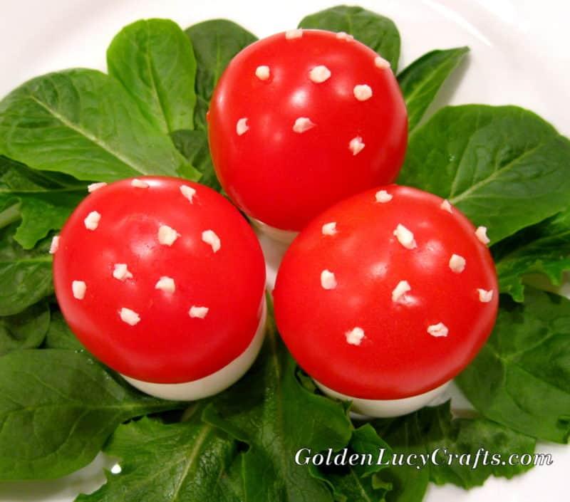 Fun Mushrooms, Kids Fun Food