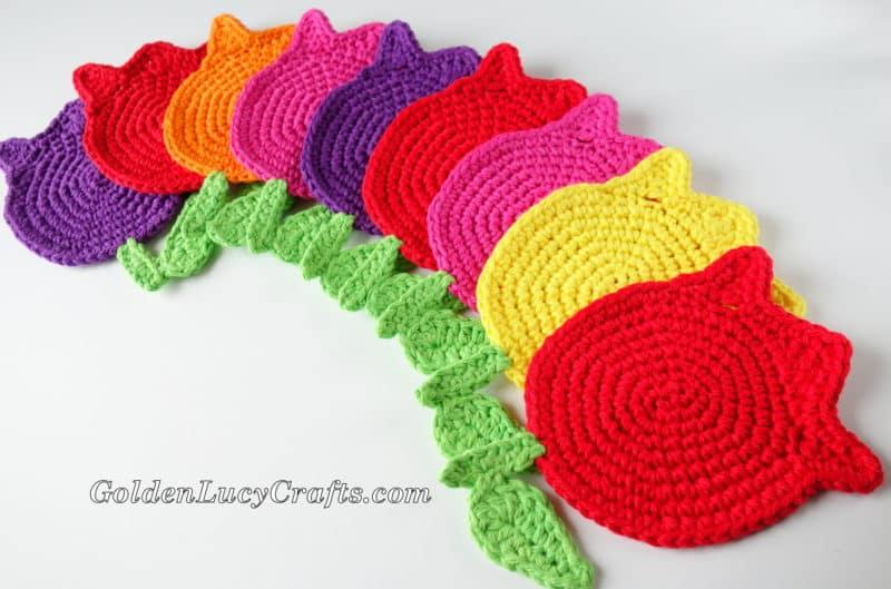 Crochet Pattern Tulip Coaster