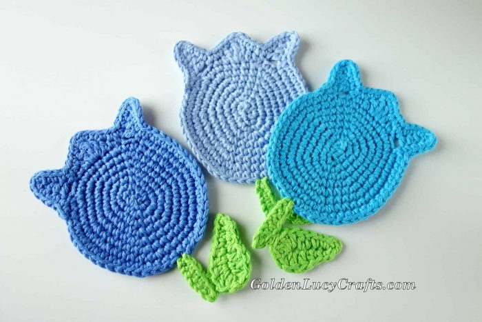 Crochet Pattern Tulip Coaster