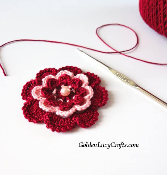 Irish Rose free crochet pattern