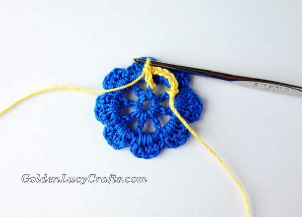 Irish Rose crochet pattern