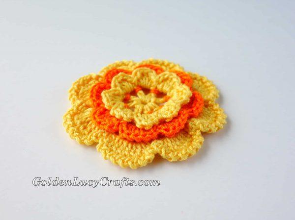 Irish Rose crochet pattern free