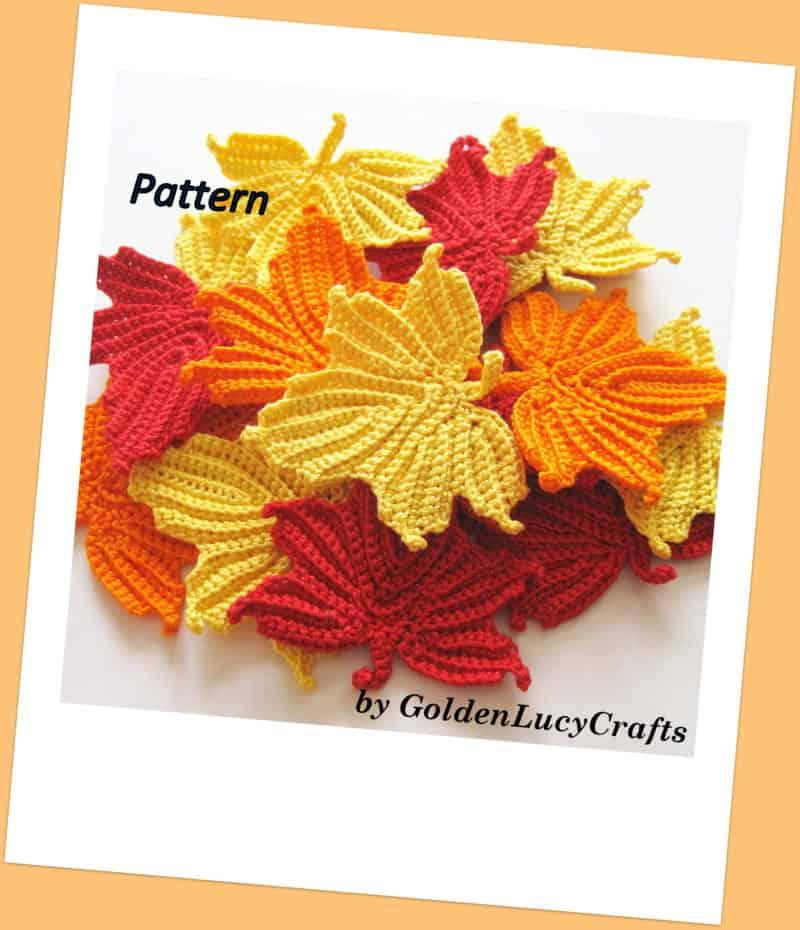 Maple Leaf Crochet Pattern