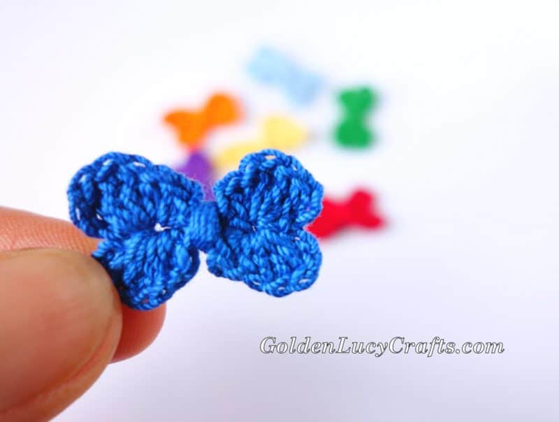 Crochet Mini Bow