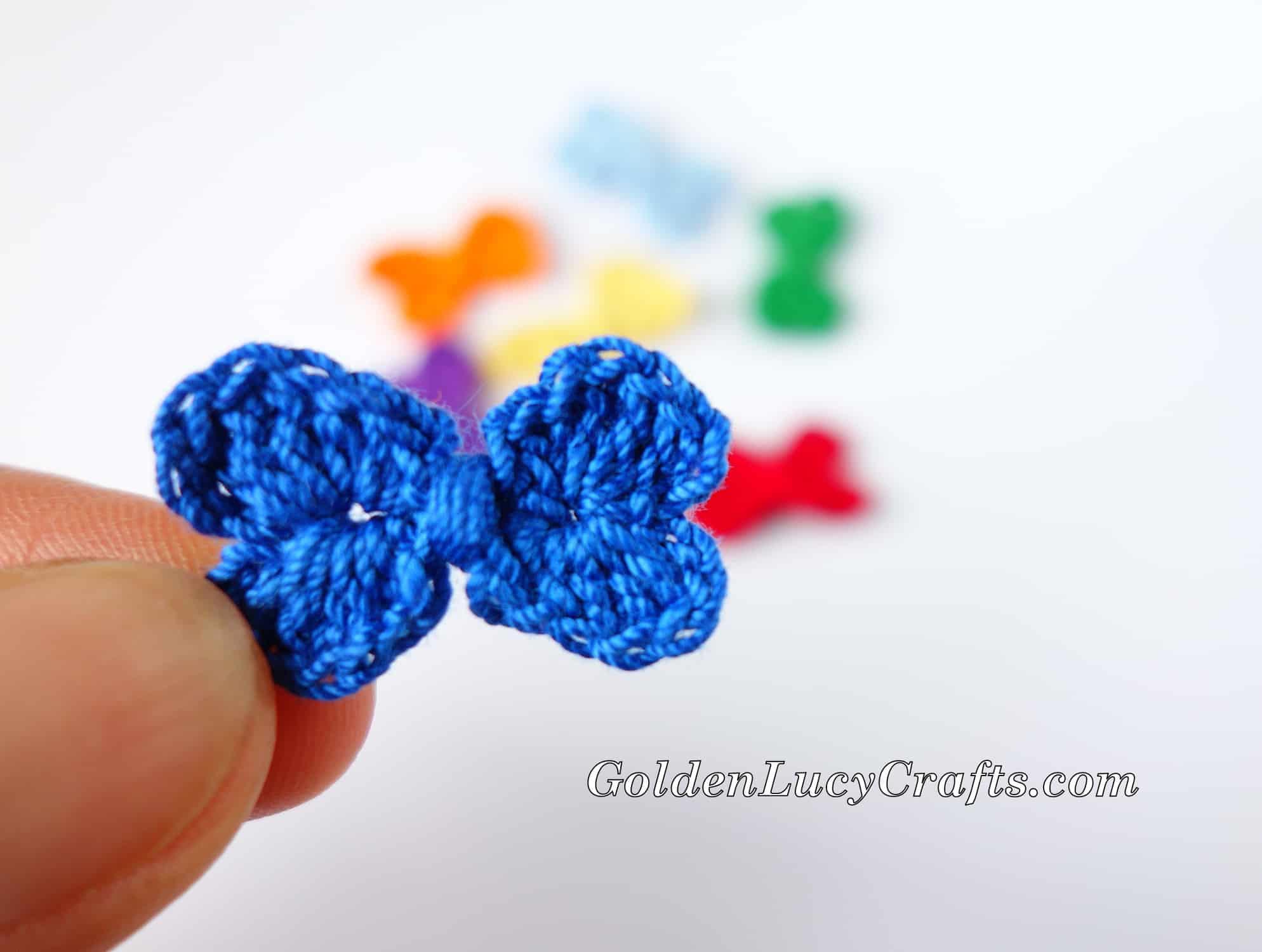 The 60 Second Granny | Mini-Granny Square Crochet Tutorial – Pixel ... | 1500x1988