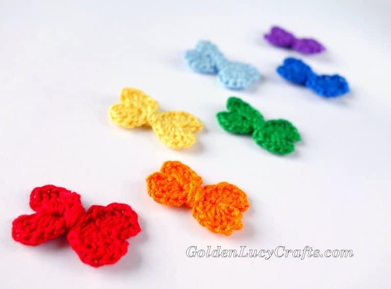 Crochet Mini Bow