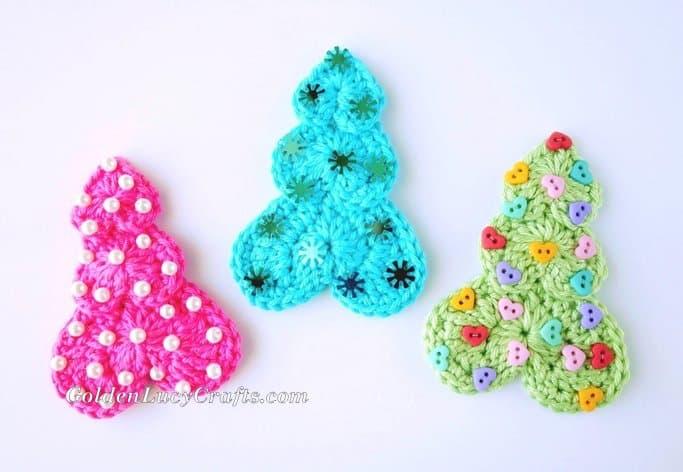 Christmas Tree free crochet pattern