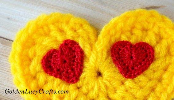Crochet Emoji Eyes