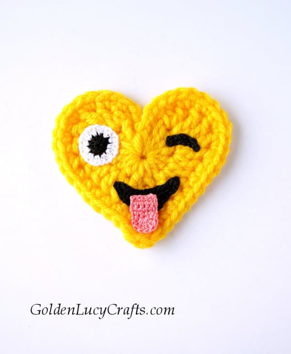 Crochet emoji pattern free