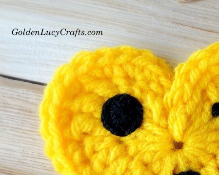 Crochet Emoji - Eye