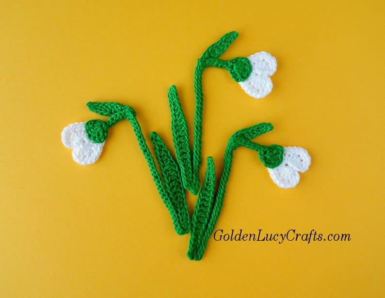 Crochet Snowdrop