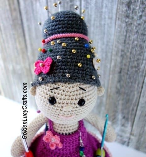 Crochet Crafter Granny Organizer