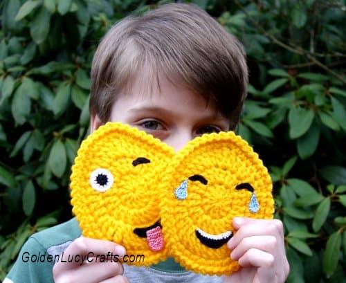 Crochet Egg Emoji