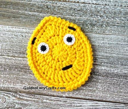 Egg Emoji Crochet