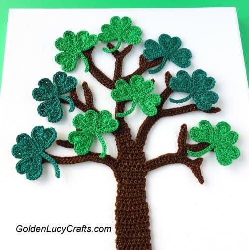 Shamrock Tree Crochet