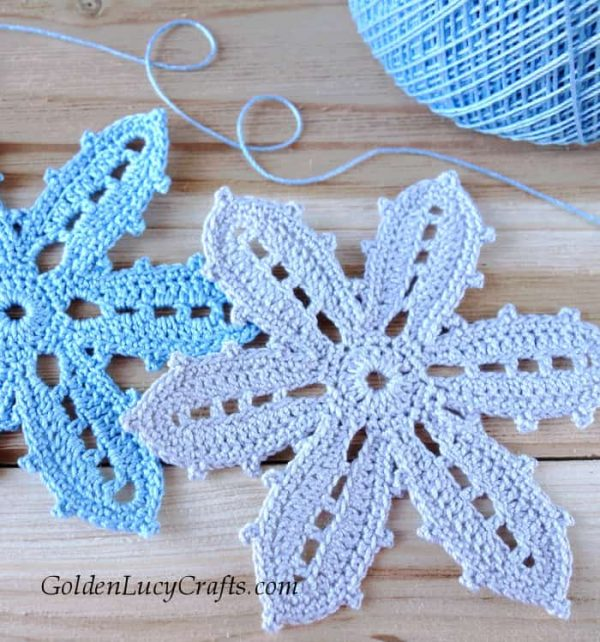 Crochet Irish Flower