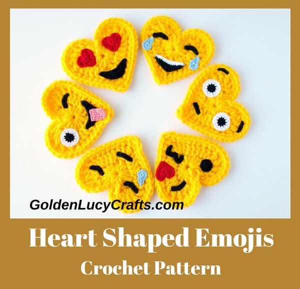 Crochet Emojis pattern