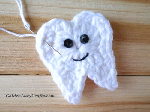 Crochet Tooth Fairy free pattern
