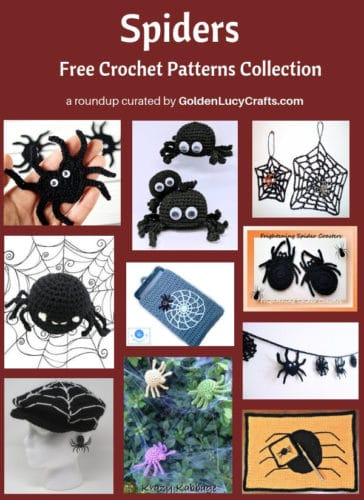 Spider Crochet Patterns roundup